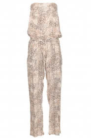 BEACHGOLD |  Jumpsuit Cheetah | beige  | Picture 1