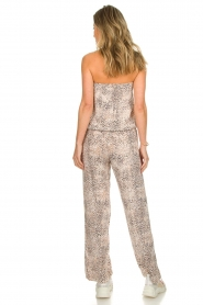 BEACHGOLD |  Jumpsuit Cheetah | beige  | Picture 5