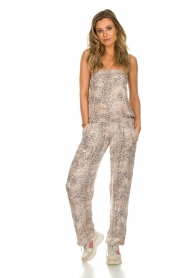 BEACHGOLD |  Jumpsuit Cheetah | beige  | Picture 2