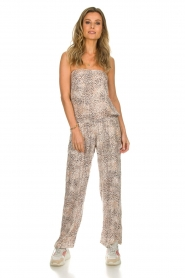 BEACHGOLD |  Jumpsuit Cheetah | beige  | Picture 3