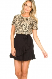 Set |  Leopard printed T-shirt Alicia | animal print  | Picture 2