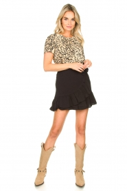 Set |  Leopard printed T-shirt Alicia | animal print  | Picture 3