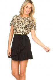 Set |  Leopard printed T-shirt Alicia | animal print  | Picture 4