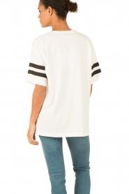 Essentiel Antwerp | T-shirt Loucas | wit  | Afbeelding 5