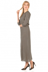 Silk maxi dress Allisson | multi