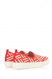 What For | Slip on schoenen Carla | Rood  | Afbeelding 4