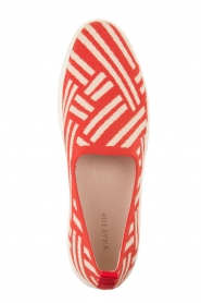 What For |  Slip on shoes Carla | Red  | Picture 5