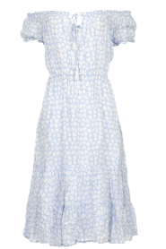 BEACHGOLD |  Dress with floral print Harper | blue  | Picture 1