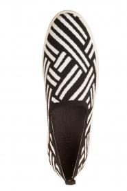 What For | Slip on schoenen Carla | Zwart  | Afbeelding 5