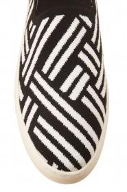 What For | Slip on schoenen Carla | Zwart  | Afbeelding 6