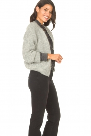 Knit-ted |  Knitted sweater Hailey | grey  | Picture 6
