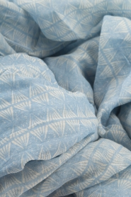 Becksöndergaard | Sjaal Constanti | blauw  | Afbeelding 3
