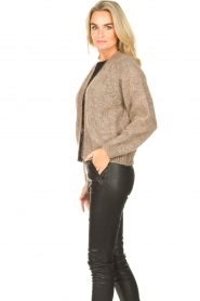 Knit-ted    Knitted cardigan Hailey   brown    Picture 5