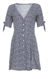 BEACHGOLD |  Dress with floral design Marie | blue  | Picture 1
