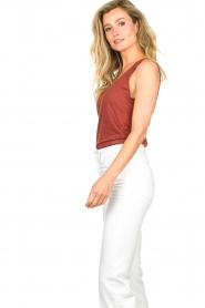 Set |  Sleeveless top Ariana | red  | Picture 4