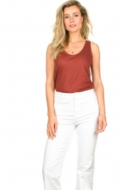 Set |  Sleeveless top Ariana | red  | Picture 3
