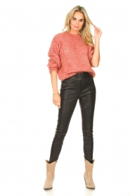 Knit-ted |  Knitted sweater Stephanie | pink  | Picture 3