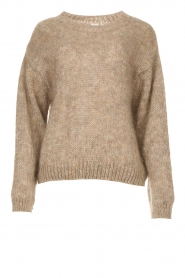 Knit-ted |  Knitted sweater Stephanie | brown  | Picture 1