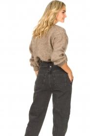 Knit-ted | Gebreide trui Stephanie | bruin  | Afbeelding 6