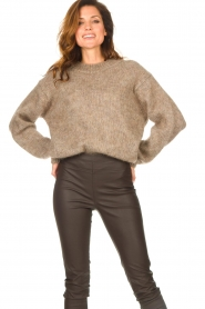 Knit-ted |  Knitted sweater Stephanie | brown  | Picture 5