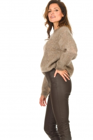 Knit-ted |  Knitted sweater Stephanie | brown  | Picture 6