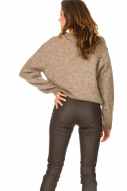Knit-ted |  Knitted sweater Stephanie | brown  | Picture 7