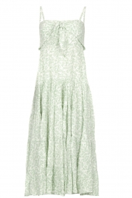 BEACHGOLD | Midjurk met bloemenprint Marilyn | groen  | Afbeelding 1