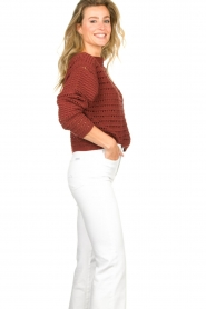 Set |  Knitted sweater Allister | bordeaux  | Picture 5