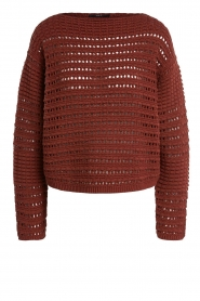 Set |  Knitted sweater Allister | bordeaux  | Picture 1