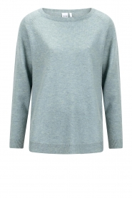 Knit-ted |  Merino sweater Nina | blue  | Picture 1