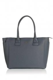 Furla | Leren handtas Capriccio | blauw  | Afbeelding 1