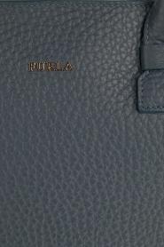 Furla | Leren handtas Capriccio | blauw  | Afbeelding 6