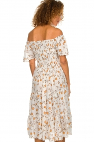 BEACHGOLD |  Dress with sunflower print Jenny | natural  | Picture 6