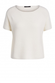 Set |  Finely knitted top Amy | white  | Picture 1
