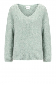 Knit-ted |  Knitted sweater Begonia | blue  | Picture 1