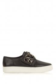 What For | Sneakers Auguste met decoratieve stenen | Zwart  | Afbeelding 1