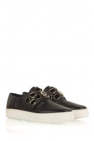 What For | Sneakers Auguste met decoratieve stenen | Zwart  | Afbeelding 3