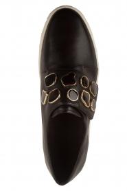 What For | Sneakers Auguste met decoratieve stenen | Zwart  | Afbeelding 5