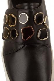 What For | Sneakers Auguste met decoratieve stenen | Zwart  | Afbeelding 6
