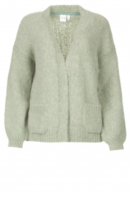 Knit-ted    Knitted cardigan Bernelle   blue    Picture 1