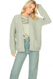 Knit-ted    Knitted cardigan Bernelle   blue    Picture 6