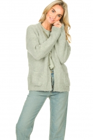 Knit-ted    Knitted cardigan Bernelle   blue    Picture 5