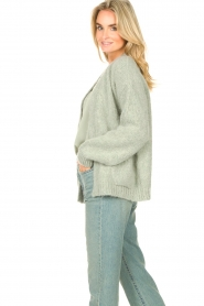 Knit-ted    Knitted cardigan Bernelle   blue    Picture 7