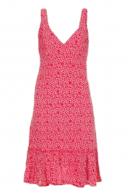 BEACHGOLD |  Dress with floral print Rambler | red  | Picture 1