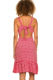 BEACHGOLD |  Dress with floral print Rambler | red  | Picture 5