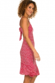 BEACHGOLD |  Dress with floral print Rambler | red  | Picture 4
