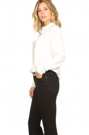 Set |  Silk mix blouse Angeli | white  | Picture 5