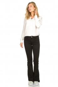 Set |  Silk mix blouse Angeli | white  | Picture 3