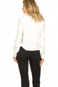 Set |  Silk mix blouse Angeli | white  | Picture 7