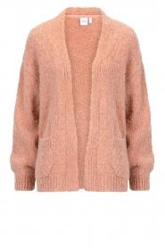 Knit-ted | Gebreid vest Bernelle | roze  | Afbeelding 1